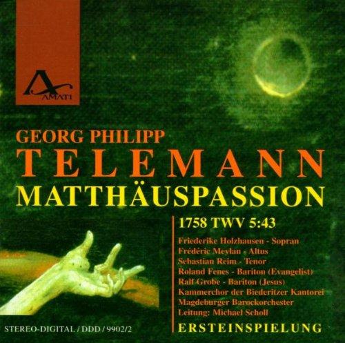Matthäus-Passion (1758) Twv 5: