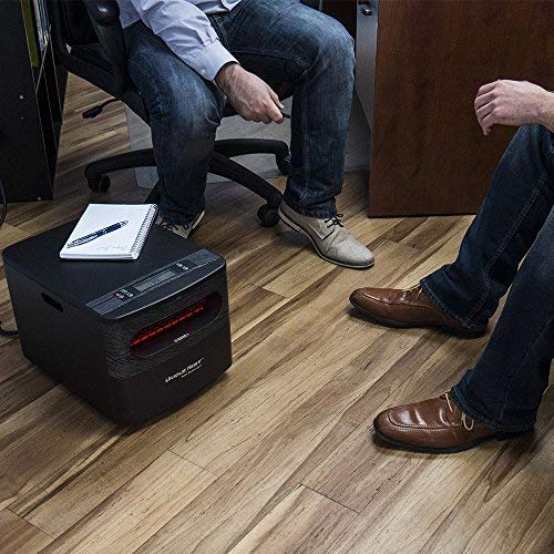 Unique heat space heater on floor