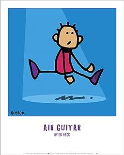 Air Guitar by Ed Heck Laminated Art Print, 16 x 20 inches