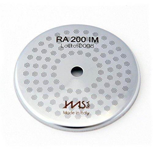 IMS Competition-Reihe Präzisions Duschsieb kompatibel mit Rancilio. RA200IM