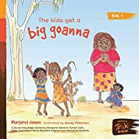 The kids get a big goanna
