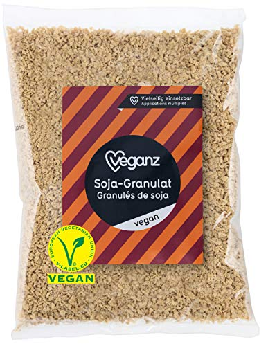 bester Test von vegetarische wurst rugenwalder Veganes Sojagranulat – Veganes Hackfleisch mit Eiweiß – statt Küchenfleisch – Vegetarisch…