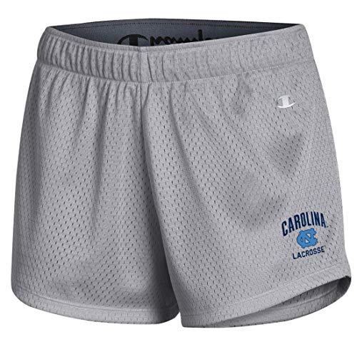 UNC Champion Women's Lacrosse Shorts (Small) Gray