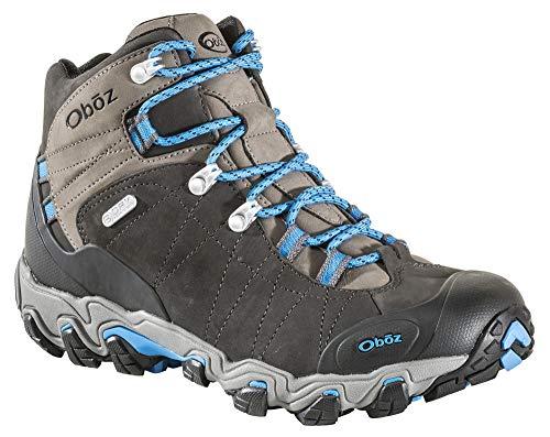 Oboz Bridger Mid B-Dry Hiking Boots - Men's Shale Gray 9.5