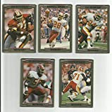 1989 Action Packed Test/Prototype Set - 10-Card Washington Football Team Set