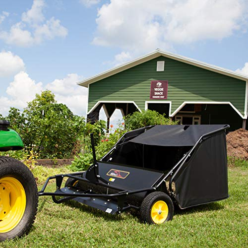 best lawn sweeper tow behind