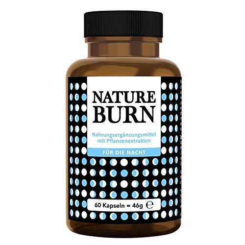 Natureburn Burner Kapseln für die Nacht, Stoffwechsel Multisupport im Schlaf, die Nummer 1 Rezeptur aus den USA, Made in Germany nach ISO und HACCP, 60 Kapseln