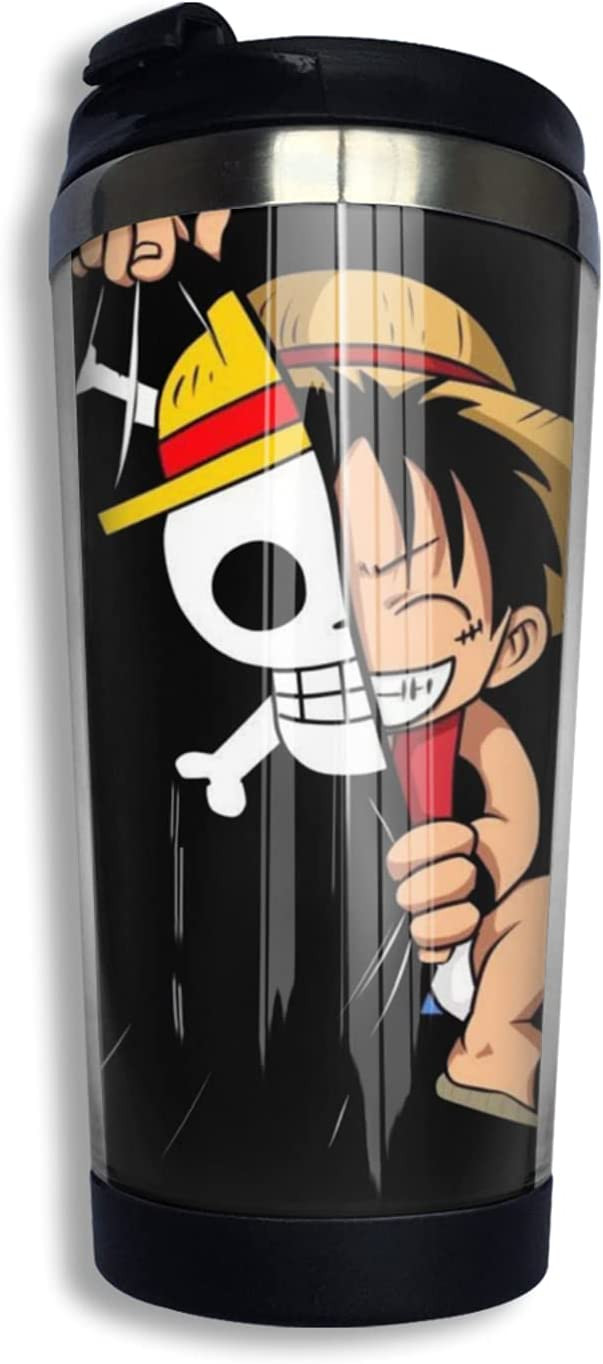 One Piece Monkey D Luffy Anime Coffee Thermos 3d Sale SALE% OFF Cup Print Mug Dedication N