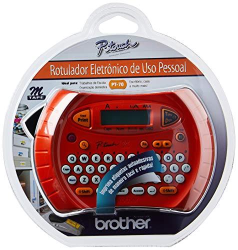 Rotulador Eletrônico, Brother, Pt70, Laranja