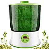 KiKiHeim Bean Sprouts Machine, Automatic Bean Sprouts Maker, Seed Sprouting Kit with Doubl...