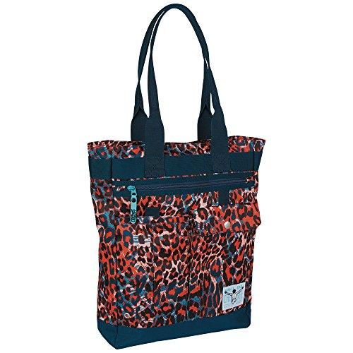 Chiemsee Damen Handtasche New Shopper, Mega Flow Blue, 30 x 10 x 40 cm, 12 Liter