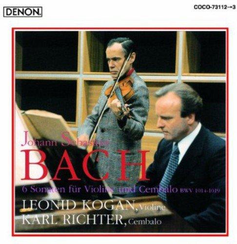 J.S.Bach:6 Sonaten Fur Violine