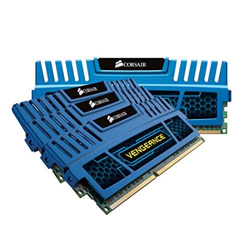 Corsair CMZ16GX3M4A1600C9B 16GB DDR3 1600MHz Memory Module (16GB, 4x4GB, DDR3, 1600MHz, 240-pin DIMM)