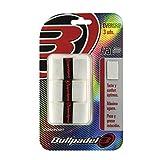 Bullpadel OVERGRIP GB-1200 012 Pack de 3 overgrips, Unisex Adulto, Blanco (Blanco),...