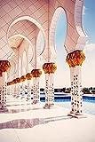 Fototapete selbstklebend Scheich Zayid Moschee - Vintage