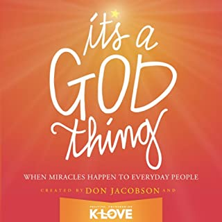 It's a God Thing audiobook cover art