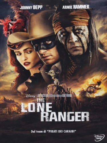 DVD LONE RANGER by johnny depp