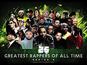 777 Tri-Seven Entertainment 25 Greatest Male Rappers of All Time Poster (Series 2) (24x18)