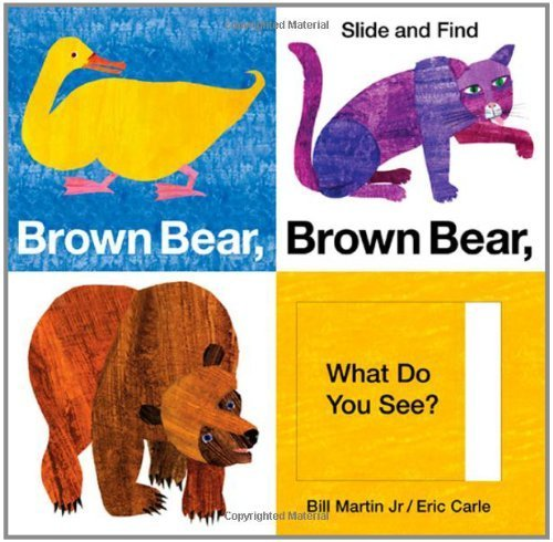 Price comparison product image Brown Bear Brown Bear What Do You See Slide and Find