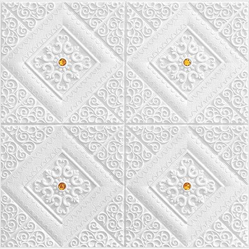 Piedra de Ladrillo Paneles de Pared Autoadhesivos Papel pintado de ladrillo 3D Papel extraíble autoadhesivo Pegatina de techo Papel pintado Decoración del techo Decoración de niños Oficina Espuma de e