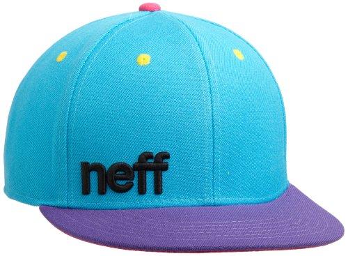 Neff Daily Cap schwarz/grau/weiß one Size Cyan/Purple