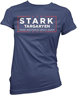 09f4a1a9b20f Stark Targaryen Election Shirt Make Westeros Great Again Funny Shirts  Donald Trump Shirt Navy