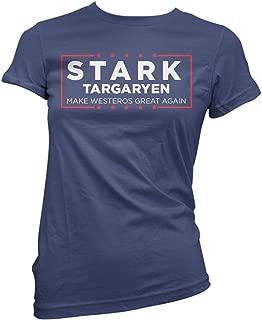 Stark Targaryen Election Shirt Make Westeros Great Again Funny Shirts Donald Trump Shirt Navy