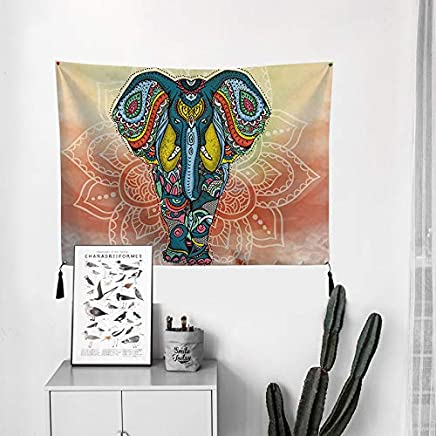 JTWJ 北欧ハング布小さな女の子ins背景布部屋の装飾壁カバー電気メーターボックスタペストリーぶら下げ絵画28.7×37.4インチ (Color : B)