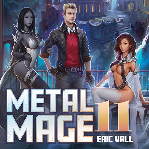 Metal Mage 11 audiobook cover art