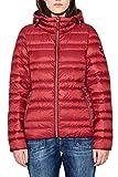 edc by Esprit 087cc1g002 Chaqueta, Rojo (Dark Red 610), Medium para Mujer