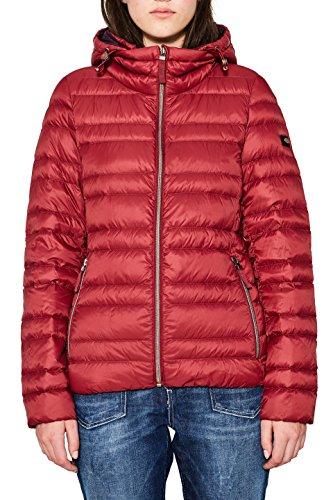 edc by Esprit 087cc1g002 Chaqueta, Rojo (Dark Red 610), X-Small para Mujer