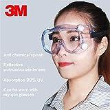 BABIFIS 3M 1621 Anti-Impacto Gafas de Seguridad contra Salpicaduras químicas...