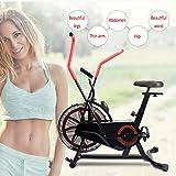 Shhjjyp Bicicleta De Ejercicio Air Assault Cardio Machine Fitness Cycle Heavy Duty Commercial Bike Full Body Gym Cross Fit Workout
