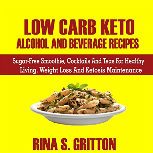 Low Carb Keto Alcohol and Beverages Recipes Titelbild