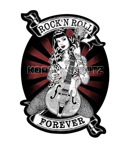 496 King Kerosin < Rock´n Roll Forever > Aufkleber/Sticker USW.