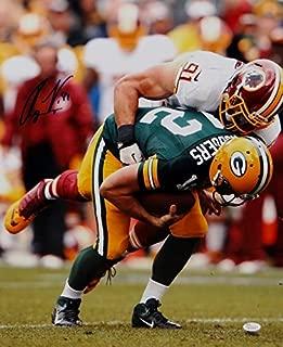 Ryan Kerrigan Autographed Washington Redskins 16x20 Vs Rodgers Photo- JSA W Auth