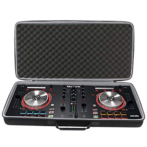 co2CREA Hard Travel Carrying Case for Numark Mixtrack Pro 3/ Numark Mixtrack Platinum | 4-Channel USB DJ Controller