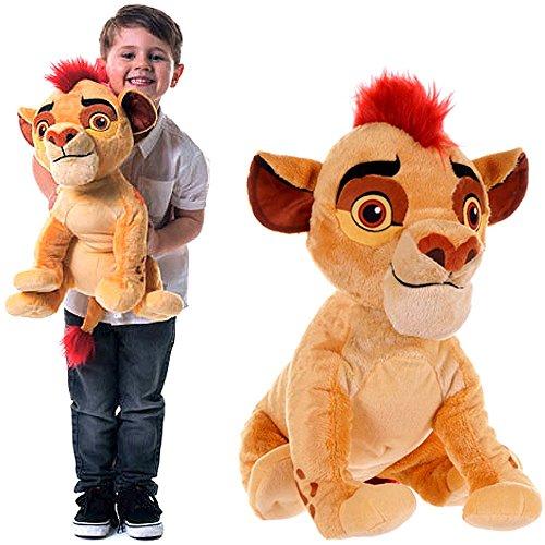 Kuscheltier große XXL Figur Löwe Kion aus Die Garde König der Löwen Disney Plüschfigur Jungen und Mädchen 45cm