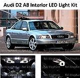 Elefante alto – Premium A8 S8 D2 1994 – 2002 LED Full interior Kit de actualización Kit Set Xenon Blanco