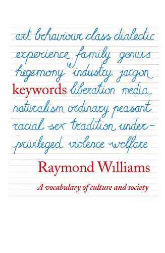 Keywords: A Vocabulary of Culture and Society (English Edition)