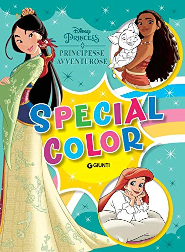 Principesse avventurose. Maxi supercolor. Ediz. a colori