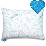 PineTales, Premium Water Pillow with Washable Ultra Smooth & Soft Designer Cooling Pillowcase, Standard Size (20' x 26') - Water NOT Included