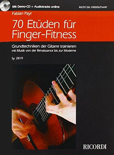 70 Etüden für Finger-Fitness