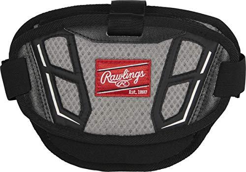Rawlings NOCSAE Arc Reactor Core Baseball Catcher's Protective Heart Guard Attachment Piece, Black, Model:CPAPN-B