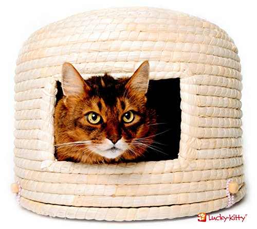 Traditioneller japanischer Katzenkorb