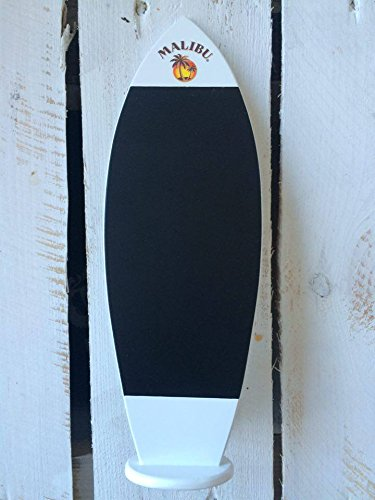 Malibu Retro Surfplank krijtbord tafelkrijtbord