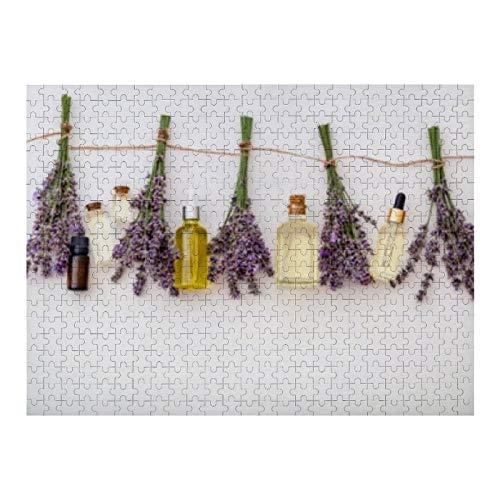Lavendelolie Serum Fresh Flower - 500 legpuzzels voor volwassenen en voor kinderen vanaf 12 jaar, Multi