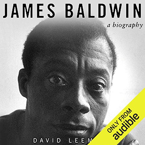 James Baldwin audiobook cover art