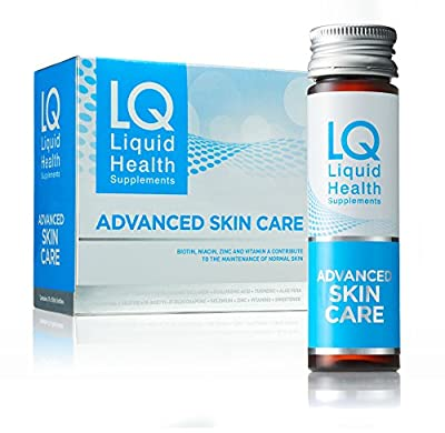 LQ Advanced Skin Care - Collagen, Aloe Vera, Tumeric, Hyaluronic Acid and Resveratrol Health & Beauty Supplement - 10 days (1 box)
