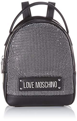 Love MoschinoJc4052pp1aMujerBolsos mochilaNegro (Negro)